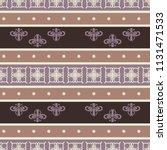 seamless vector decorative... | Shutterstock .eps vector #1131471533