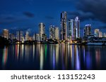 Reflection Of Surfers Paradise...