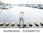 beautiful solo traveller young...   Shutterstock . vector #1131606713