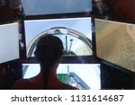 flight simulator to have the... | Shutterstock . vector #1131614687