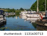 sharpness marina at the end of... | Shutterstock . vector #1131630713
