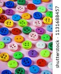 buttons of different colors on... | Shutterstock . vector #1131688457