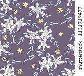 little floral seamless pattern...   Shutterstock .eps vector #1131719477