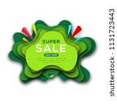 banner template for special... | Shutterstock .eps vector #1131723443