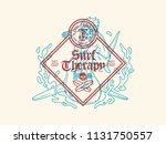 soul therapy surf therapy is a... | Shutterstock .eps vector #1131750557