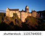 direct view on loket castle ... | Shutterstock . vector #1131764003
