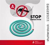 stop denque fever vector...   Shutterstock .eps vector #1131835493