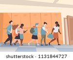 vector illustration group of... | Shutterstock .eps vector #1131844727
