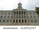 tennessee state capitol ... | Shutterstock . vector #1131912737