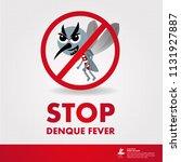 stop denque fever vector   Shutterstock .eps vector #1131927887