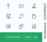 modern  simple vector icon set...   Shutterstock .eps vector #1131939617