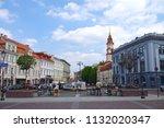 vilnius  lithuania   28 april... | Shutterstock . vector #1132020347