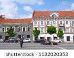 vilnius  lithuania   28 april... | Shutterstock . vector #1132020353