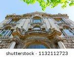 berlin  germany   may 08  2018  ... | Shutterstock . vector #1132112723