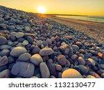 sunset of donegal beach ireland   Shutterstock . vector #1132130477