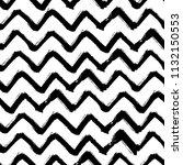 chevron zigzag paint brush... | Shutterstock .eps vector #1132150553