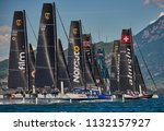 riva del garda lago di garda ...   Shutterstock . vector #1132157927