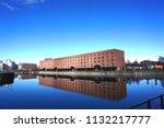 liverpool  uk   16 march  view... | Shutterstock . vector #1132217777
