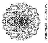mandalas for coloring  book....   Shutterstock .eps vector #1132281197