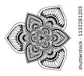 mandalas for coloring  book....   Shutterstock .eps vector #1132281203