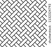 braided seamless  art line ... | Shutterstock .eps vector #1132324793