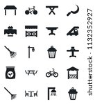 set of vector isolated black... | Shutterstock .eps vector #1132352927