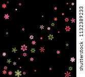 cute floral pattern with simple ...   Shutterstock .eps vector #1132389233