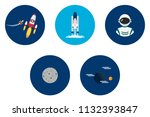 science and universe | Shutterstock .eps vector #1132393847