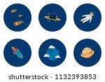 science and universe | Shutterstock .eps vector #1132393853