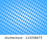 bavarian pattern - stock photo