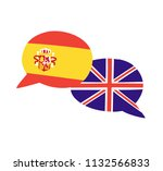 vector illustration with two... | Shutterstock .eps vector #1132566833