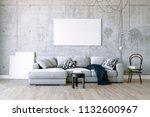 3d render of beautiful clean... | Shutterstock . vector #1132600967