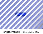 blue minus icon on the gray... | Shutterstock . vector #1132612457