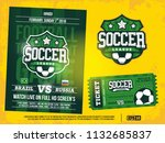 modern professional sports... | Shutterstock .eps vector #1132685837