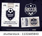 modern professional sports... | Shutterstock .eps vector #1132685843