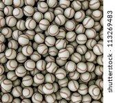 baseballs background | Shutterstock . vector #113269483