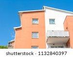 modern luxury apartment... | Shutterstock . vector #1132840397