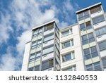 modern giant  apartment... | Shutterstock . vector #1132840553