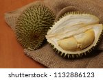the kind of fruit. the sharp... | Shutterstock . vector #1132886123