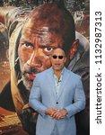 new york   jun 10  actor dwayne ... | Shutterstock . vector #1132987313