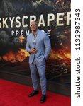 new york   jun 10  actor dwayne ... | Shutterstock . vector #1132987343