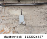 small transmitter or receiver... | Shutterstock . vector #1133026637