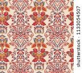 seamless vintage vector... | Shutterstock .eps vector #1133054507