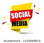 banner social media | Shutterstock .eps vector #1133069813