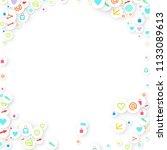 social media marketing ... | Shutterstock .eps vector #1133089613