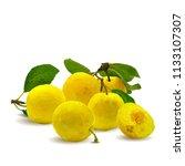 fresh  nutritious  tasty yellow ... | Shutterstock .eps vector #1133107307