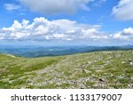 the altai mountains are a... | Shutterstock . vector #1133179007