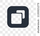 size vector icon isolated on... | Shutterstock .eps vector #1133321273