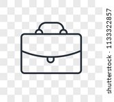 briefcase vector icon isolated...   Shutterstock .eps vector #1133322857