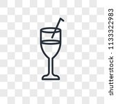 beverage vector icon isolated... | Shutterstock .eps vector #1133322983